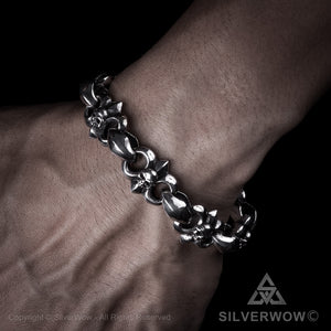 Bad Ass Skull & Bone Bracelet