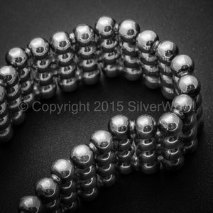 Ball Curb Bracelet x 23mm Wide
