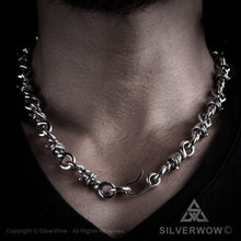 Heavy Barb Wire Necklace