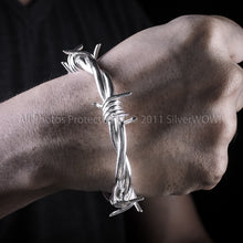 Mens Barbed Wire Bangle