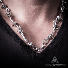 Barbed Wire Necklace Chain