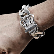 Heavy Buckle Bracelet