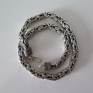 Byzantine Bali Necklace - 12mm Wide