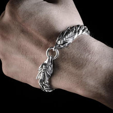 Eagle Head Bracelet - 925 Solid Sterling Silver