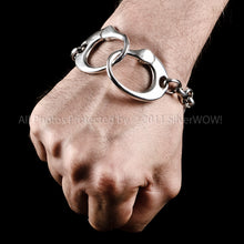 Richards Handcuff Bracelet Silver