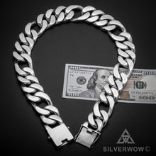 30mm Figaro Link Necklace Chain 1.4 kg $bill