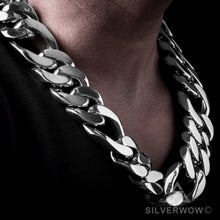 30mm Figaro Link Necklace Chain
