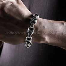 Iron Cross Mens Bracelet