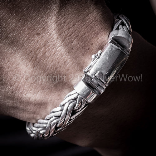 Double Rope Weave Bracelet x 10mm
