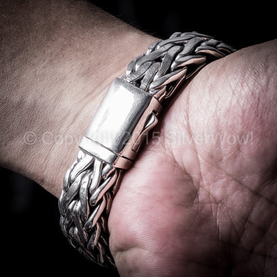 Rope Weave Bracelet 16mm wide