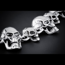 Skull Bracelet - Big Small Skull Mix