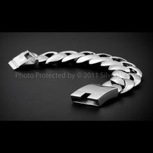 30mm Stainless Steel Curb Bracelet