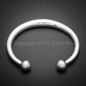 Tapered Torque / Torc Bangle
