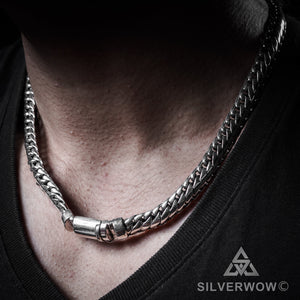 11mm Woven Snake Necklace