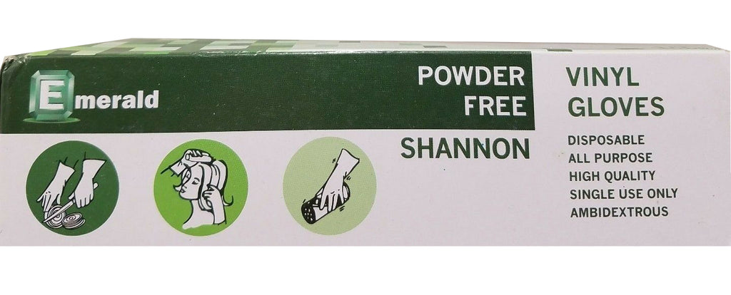 Disposable Gloves - Powder and Latex Free -Non-Sterile - 100 Gloves per Box