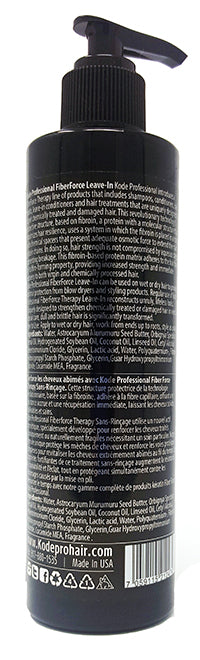 Kode Professional FIBERFORCE Leave In Treatment Mask For Extremely Damaged Hair 8 Fl Oz.