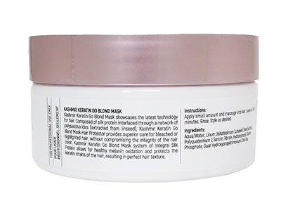 Kashmir Keratin GoBlond After Color Hydrating Treatment Hair Mask