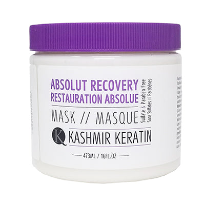 Kashmir Keratin Absolute Recovery Treatment Mask Sulfate And Paraben Free For Very Damaged Hair