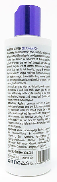 Kashmir Keratin Deep Shampoo For Oily and Damaged Hair