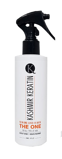 Kashmir Keratin THE ONE Leave In Mask 12 in 1 Hair Treatment 8 Fl Oz.