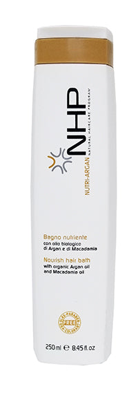 NHP Nutri Argan Nourishing Shampoo with Macadamia Oil (Dry and Colored Hair)