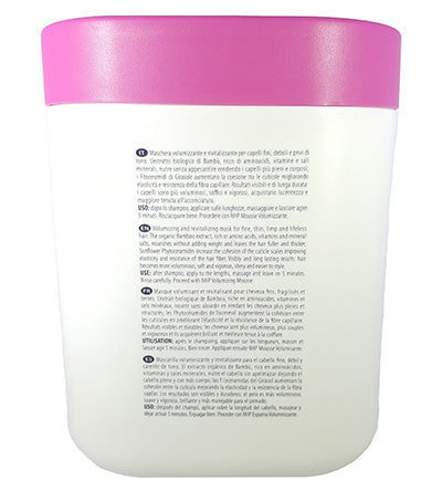 NHP Extra Volume Hair Mask Volumizing with Bamboo Extract 33.8 Fl. Oz