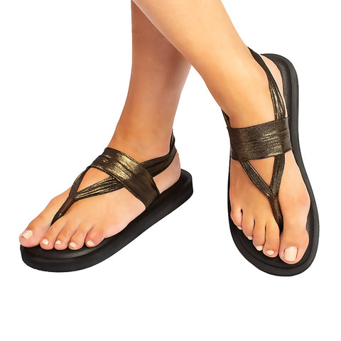 Sandals Classic Dark Gold
