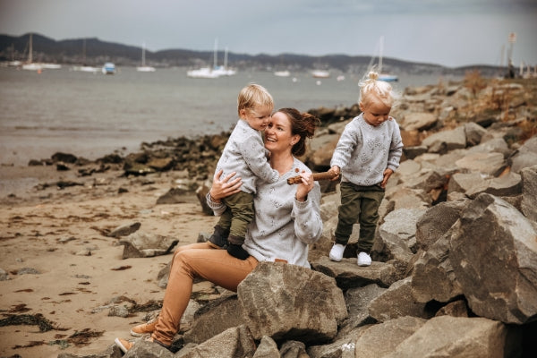 Mama Disrupt modern motherhood magazine interview Kate Causon, founder of Wild Island Apparel