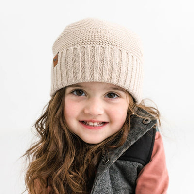 The Summit Beanie | Beech | Kids beanie
