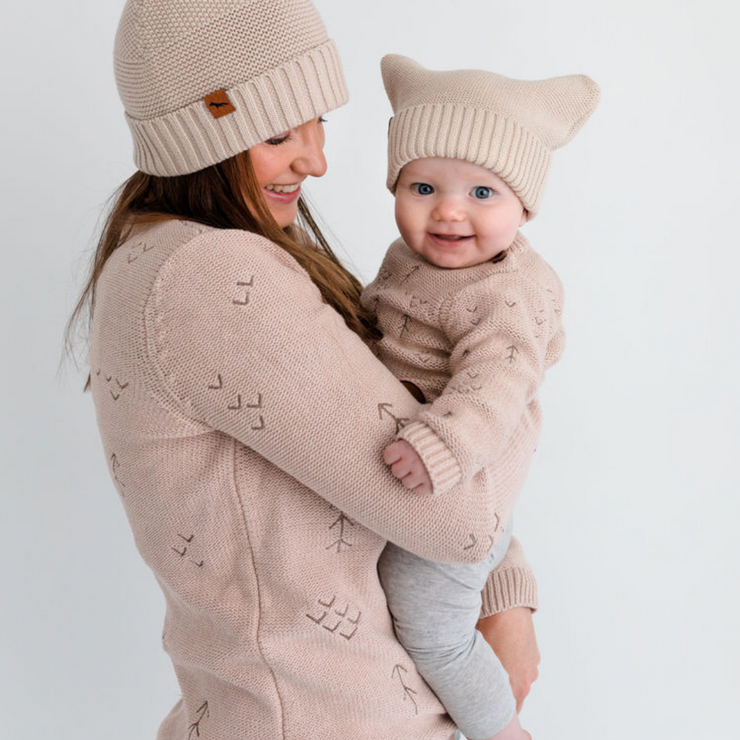 Collab Windswept Pullover | Baby Knitwear | Wild Oat