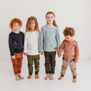 Wild Island Co Kids Discoverer Pants for girls + boys, Wild Island, dark grey (1-8Y) Kids and Adults Quality Clothing Designed in Tasmania Australia 11