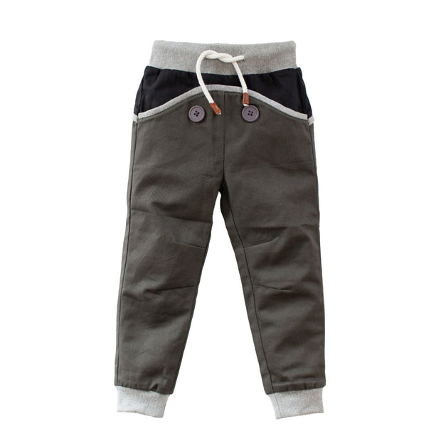 Wild Island Co Kids Discoverer Pants for girls + boys, Wild Island, dark grey (1-8Y) Kids and Adults Quality Clothing Designed in Tasmania Australia 2
