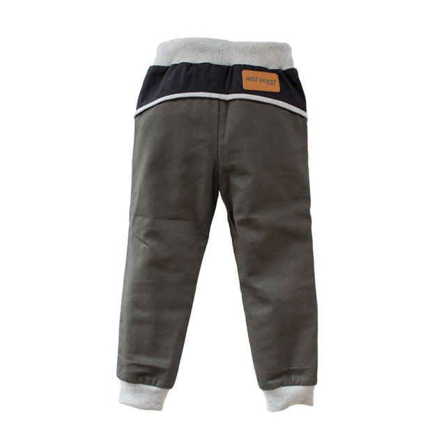 Wild Island Co Kids Discoverer Pants for girls + boys, Wild Island, dark grey (1-8Y) Kids and Adults Quality Clothing Designed in Tasmania Australia 3
