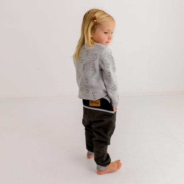 Wild Island Co Kids Discoverer Pants for girls + boys, Wild Island, dark grey (1-8Y) Kids and Adults Quality Clothing Designed in Tasmania Australia 9