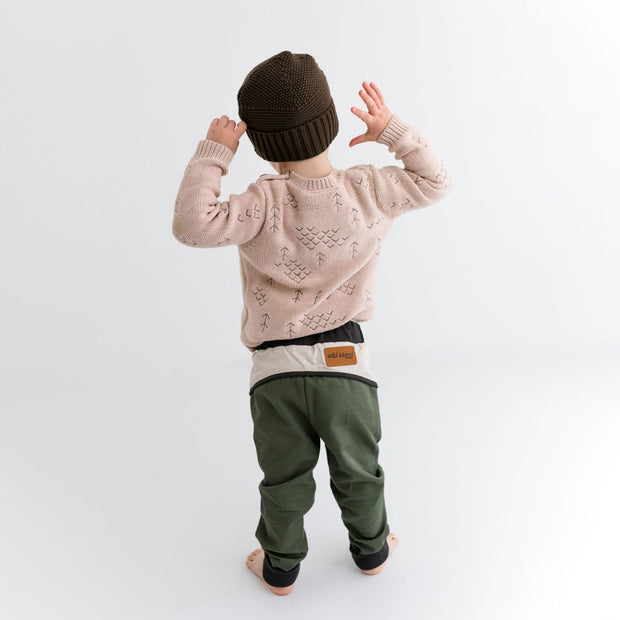 Wild Island Co Discoverer Kids Pants for girls + boys, Wild Island, sage green (1-8Y) Kids and Adults Quality Clothing Designed in Tasmania Australia 10