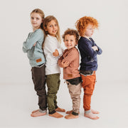 Wild Island Co Discoverer Kids Pants for girls + boys, Wild Island, sand/khaki (1-8Y) Kids and Adults Quality Clothing Designed in Tasmania Australia 13