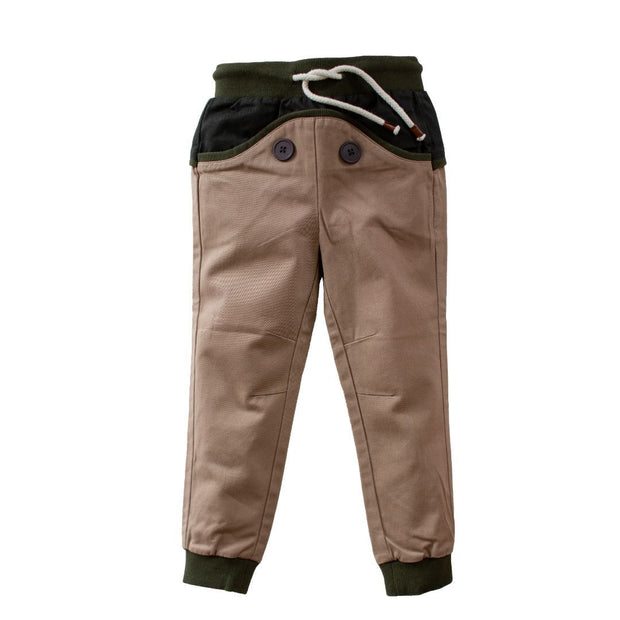 Wild Island Co Discoverer Kids Pants for girls + boys, Wild Island, sand/khaki (1-8Y) Kids and Adults Quality Clothing Designed in Tasmania Australia 2