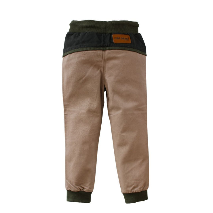 Wild Island Co Discoverer Kids Pants for girls + boys, Wild Island, sand/khaki (1-8Y) Kids and Adults Quality Clothing Designed in Tasmania Australia 3
