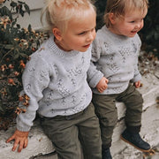 Wild Island Co Kids jumper for boys + girls, Wild Island knitted pullover, Grey(1-8Y) Kids and Adults Quality Clothing Designed in Tasmania Australia 11
