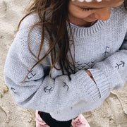 Wild Island Co Kids jumper for boys + girls, Wild Island knitted pullover, Grey(1-8Y) Kids and Adults Quality Clothing Designed in Tasmania Australia 12