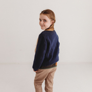Wild Island Co Knitted Kids jumper for boys + girls, Wild Island, Navy Blue (1-8Y) Kids and Adults Quality Clothing Designed in Tasmania Australia 9
