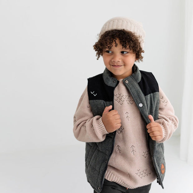 Wild Island Co Kids jumper for boys + girls, Wild Island knitted pullover, oat (1-8Y) Kids and Adults Quality Clothing Designed in Tasmania Australia 10
