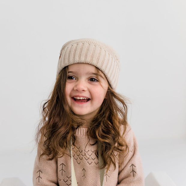 Wild Island Co Kids Beanie for boys + girls, cotton knit, Wild Island, Beech (2-9Y) Kids and Adults Quality Clothing Designed in Tasmania Australia 7