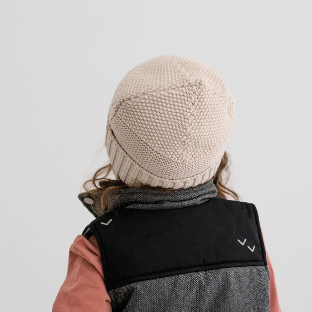 Wild Island Co Kids Beanie for boys + girls, cotton knit, Wild Island, Beech (2-9Y) Kids and Adults Quality Clothing Designed in Tasmania Australia 8