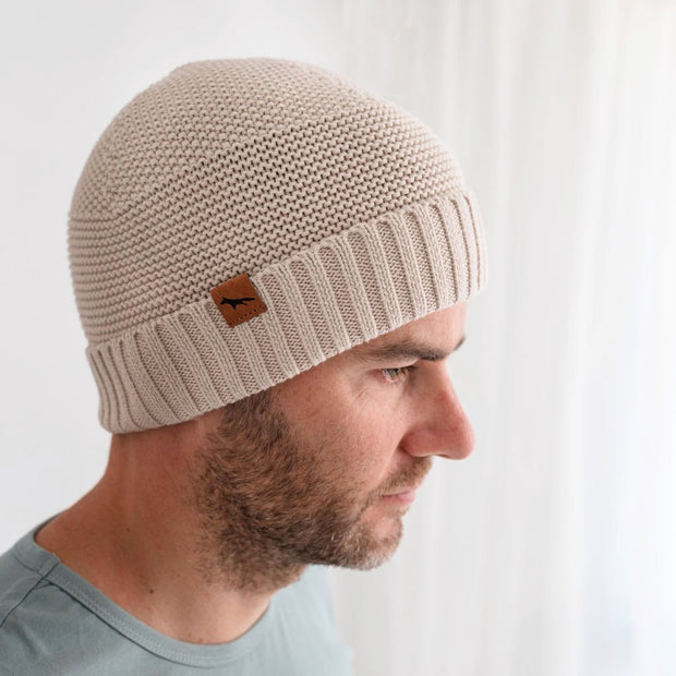 Wild Island Co Womens + Mens Beanie, 'The Summit' by Wild Island, Cotton knit, Beech Kids and Adults Quality Clothing Designed in Tasmania Australia 5