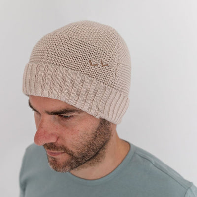 Wild Island Co Womens + Mens Beanie, 'The Summit' by Wild Island, Cotton knit, Beech Kids and Adults Quality Clothing Designed in Tasmania Australia 1