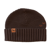 Wild Island Co Womens + Mens Beanie, 'The Summit' by Wild Island, Cotton,Walnut Brown Kids and Adults Quality Clothing Designed in Tasmania Australia 2