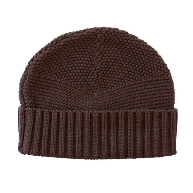 Wild Island Co Womens + Mens Beanie, 'The Summit' by Wild Island, Cotton,Walnut Brown Kids and Adults Quality Clothing Designed in Tasmania Australia 3