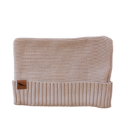 "Wild Island Co Knitted Baby Beanie ""Thylacine Beanie"" by Wild Island, beech (0-2Y) Kids and Adults Quality Clothing Designed in Tasmania Australia 2"
