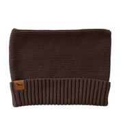 "Wild Island Co ""Thylacine"" Knitted Baby Beanie, Wild Island, walnut brown (0-2Y) Kids and Adults Quality Clothing Designed in Tasmania Australia 2"